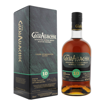 GlenAllachie 10yo Cask Strength batch